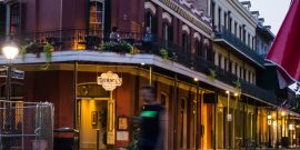 Muriel's Restaurant on Chartres Street as Seen from Jackson Square