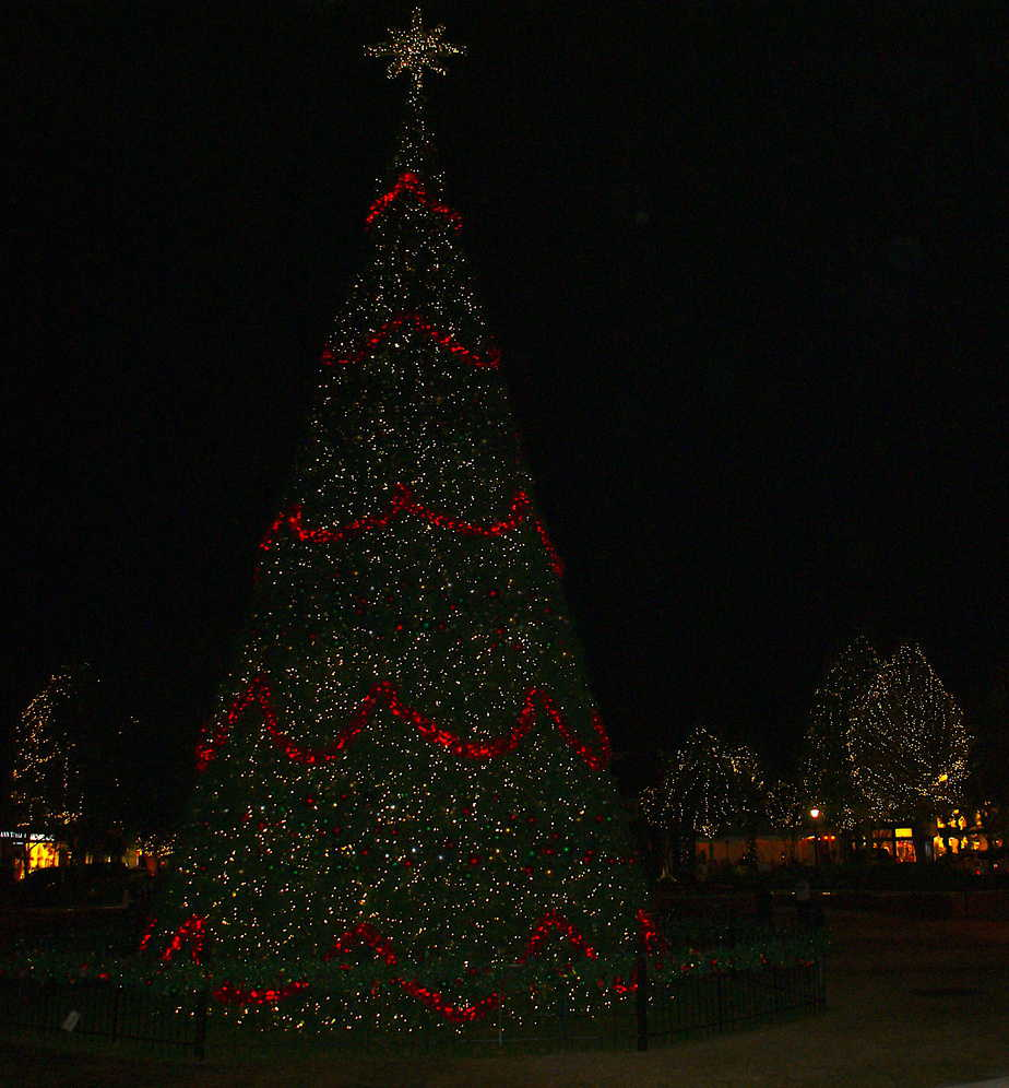 The Woodlands Christmas Lights Theme Park Pro 4k Wallpapers